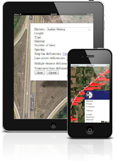 Utility & Transportation Asset Managment App Software for smartphones and tablets